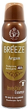 Düfte, Parfümerie und Kosmetik Breeze Deo Spray Argan - Deospray