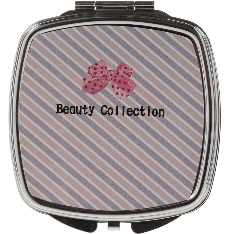 Quadratischer Taschenspiegel 85635 schräg gestreift - Top Choice Beauty Collection Mirror — Bild N1