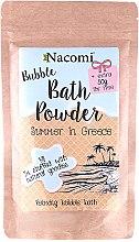 Düfte, Parfümerie und Kosmetik Badepuder Griechischer Sommer - Nacomi Bath Powder