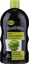 Düfte, Parfümerie und Kosmetik Shampoo mit Apfelduft für trockenes und strapaziertes Haar - Bluxcosmetics Naturaphy Apple Hair Shampoo