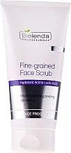 Düfte, Parfümerie und Kosmetik Gesichtspeeling mit Hyaluronsäure und Acai-Beeren Extrakt - Bielenda Professional Face Program Fine-grained Face Scrub