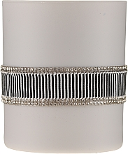 Düfte, Parfümerie und Kosmetik Duftkerze im Glas Crystal Black Gray 8x9,5 cm - Artman Crystal Glass