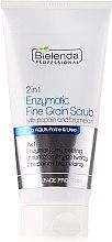 Düfte, Parfümerie und Kosmetik Feinkornpeeling mit Enzymen - Bielenda Professional Face Program 2in1 Enzyme Peel And Fine Grain Scrub