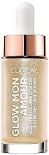 Düfte, Parfümerie und Kosmetik Flüssiger Highlighter - L'Oreal Paris Glow Mon Amour