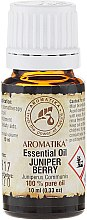 Düfte, Parfümerie und Kosmetik Ätherisches Bio Wacholderöl - Aromatika