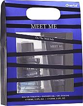 Düfte, Parfümerie und Kosmetik Omerta Meet Me On The Wild Side - Duftset (Eau de Toilette 100ml + Duschgel 100ml)
