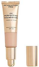 Düfte, Parfümerie und Kosmetik Feuchtigkeitsspendende CC-Creme SPF 30 - Revolution Pro CC Cream Perfecting Foundation SPF 30