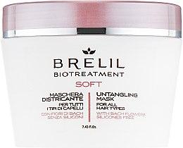 Düfte, Parfümerie und Kosmetik Entwirrende Maske für alle Haartypen mit Bach-Blüten - Brelil Bio Treatment Soft Untangling Mask
