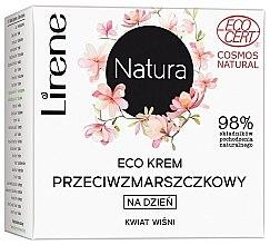 Düfte, Parfümerie und Kosmetik Anti-Falten Tagescreme mit Kirschblüte - Lirene Natura Eco Cream