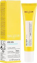 Düfte, Parfümerie und Kosmetik Feuchtigkeitsspendendes belebendes Augengel - Decleor Hydra Floral Everfresh Hydrating Wide-Open Eye Gel