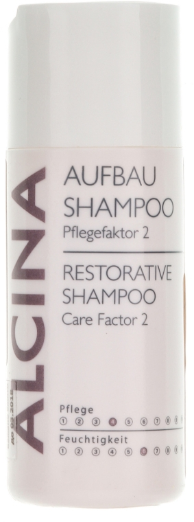 Feuchtigkeitsspendendes und pflegendes Aufbau-Shampoo - Alcina Care Factor 2 Restorative Shampoo — Bild N1