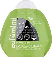 Düfte, Parfümerie und Kosmetik Regenerierende Haarmaske mit Keratin - Le Cafe de Beaute Cafe Mimi Keratin Hair Mask