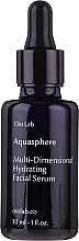 Düfte, Parfümerie und Kosmetik Feuchtigkeitsspendendes, glättendes und regenerierendes Gesichtsserum - Oio Lab Aquasphere Face Serum