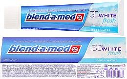 Düfte, Parfümerie und Kosmetik Zahnpasta 3D White Fresh - Blend-a-med 3D White Fresh Cool Water Toothpaste