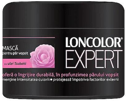 Maske für gefärbtes Haar mit Tsubaki-Öl - Loncolor Expert