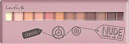 Düfte, Parfümerie und Kosmetik Lidschattenpalette - Lovely Classic Nude Make Up Kit