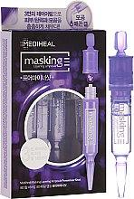 Düfte, Parfümerie und Kosmetik Set Gesichtsampullen für Porenverfeinerung 3 St. - Mediheal Masking Layering Ampoule Poreminor Shot