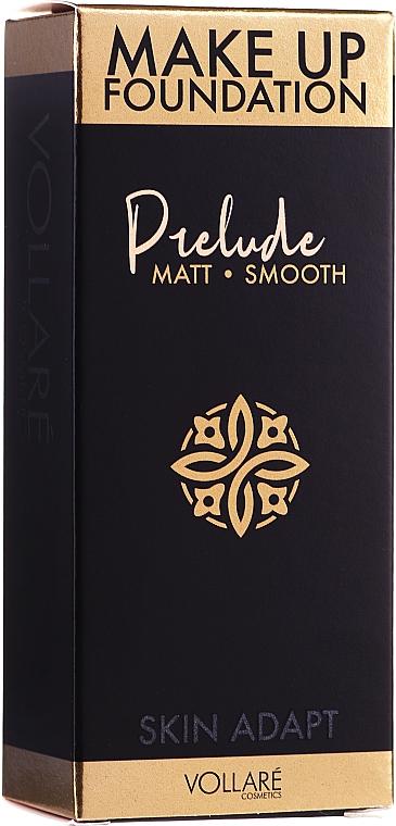 Mattierende und glättende Foundation - Vollare Prelude Smoothing & Mattifying Make Up Foundation