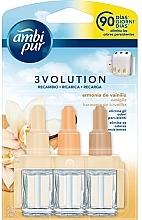 Düfte, Parfümerie und Kosmetik Raumerfrischer-Set Vanille - Ambi Pur (Refill 3x7ml)