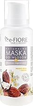 Düfte, Parfümerie und Kosmetik Natürliche Haarmaske mit Sheabutter und Pflanzenölen - E-Fiore Shea Oil And Oils Hair Mask