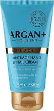 Düfte, Parfümerie und Kosmetik Anti-Aging Hand- und Nagelcreme - Argan+ Anti Age Hand & Nail Cream