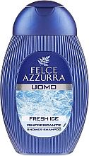 Düfte, Parfümerie und Kosmetik 2in1 Shampoo und Duschgel Frisches Eis - Felce Azzurra Fresh Ice