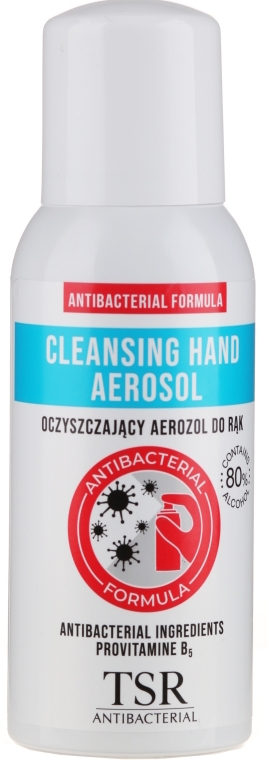 Antibakterielles Handspray - TSR Antibacterial Cleansing Hand Aerosol