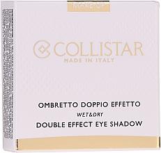 Düfte, Parfümerie und Kosmetik Lidschatten - Collistar Double Effect Eye-Shadow Wet & Dry