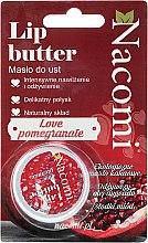 Düfte, Parfümerie und Kosmetik Natürlicher Lippenbalsam Granatapfel - Nacomi Lip Butter
