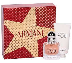 Düfte, Parfümerie und Kosmetik Giorgio Armani Emporio Armani In Love With You - Duftset (Eau de Parfum/30ml + Handcreme/50)
