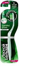 Düfte, Parfümerie und Kosmetik Weiche Zahnbürste mit Bambussalz - Lesnoy balzam