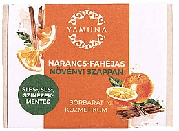 Düfte, Parfümerie und Kosmetik Mydło pomarańczowo-cynamonowe - Yamuna Orange-Cinnamon Vegetable Soap