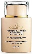 Düfte, Parfümerie und Kosmetik Langanhaltende und glättende Grundierung LSF 15 - Collistar Foundation Primer Perfect Skin Smoothing 24H SPF15