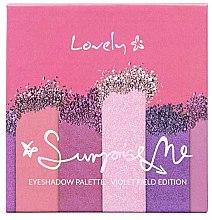 Düfte, Parfümerie und Kosmetik Lidschattenpalette - Lovely Surprise Me Eyeshadow Palette Violet Field Edition