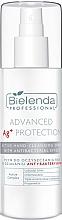 Düfte, Parfümerie und Kosmetik Aktives antibakterielles Handreinigungsspray - Bielenda Professional Advanced Ag+ Protection