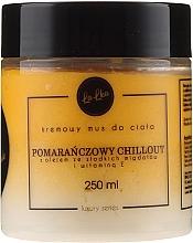 Düfte, Parfümerie und Kosmetik Creme-Mousse für den Körper mit Vitamin E, Orange und Mandelöl - Lalka