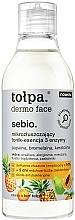 Düfte, Parfümerie und Kosmetik Tonisierende Gesichtsessenz mit Enzymen - Tolpa Dermo Face Essence-Tonic