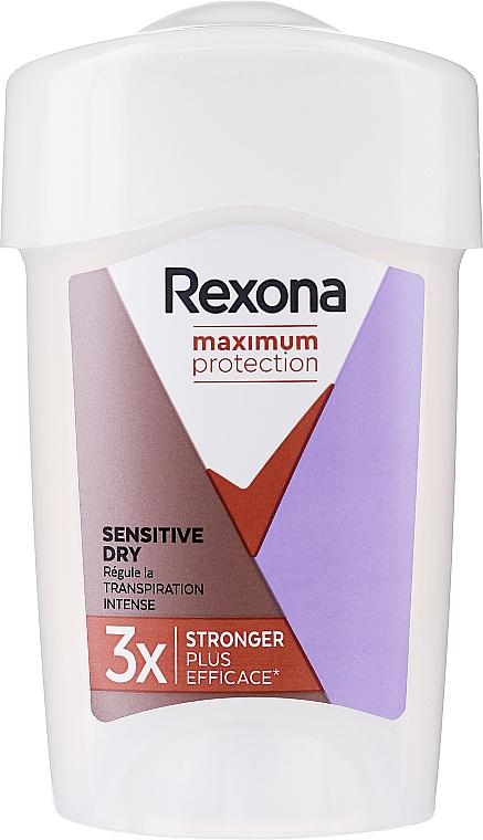 Deostick Antitranspirant - Rexona Maximum Protection Sensitive Dry