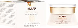 Düfte, Parfümerie und Kosmetik Kakao-Peelingcreme für das Gesicht - Klapp Kiwicha Cocoa Cream Peeling