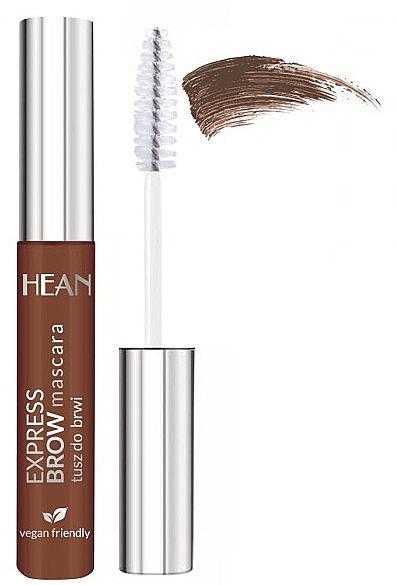 Augenbrauen-Mascara - Hean Express Brown Mascara