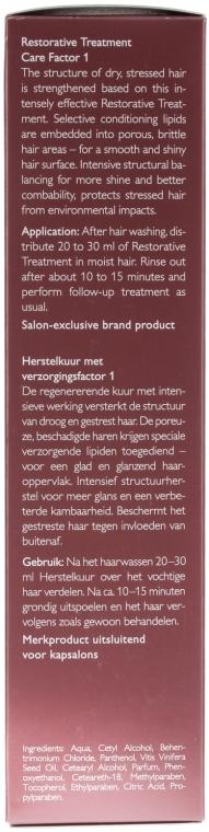 Haarmaske - Alcina Hair Care Factor 1 Restorative Treatment  — Bild N3