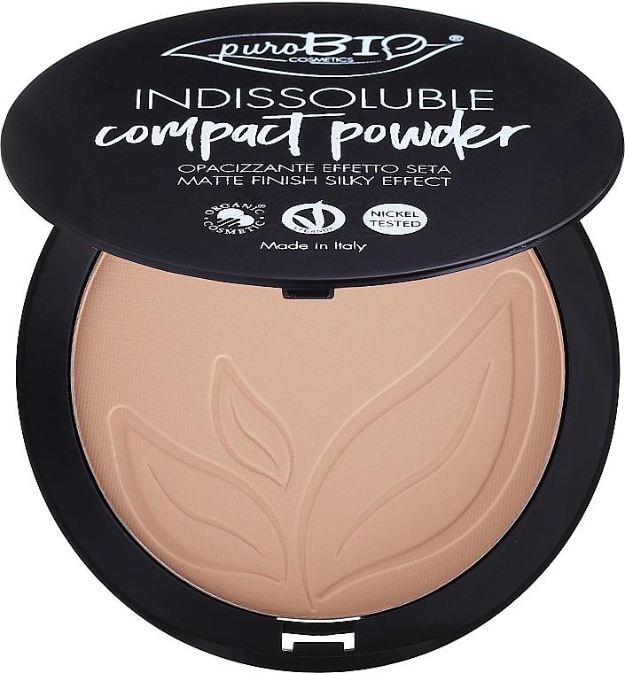 Kompakter Gesichtspuder - PuroBio Cosmetics Compact Powder