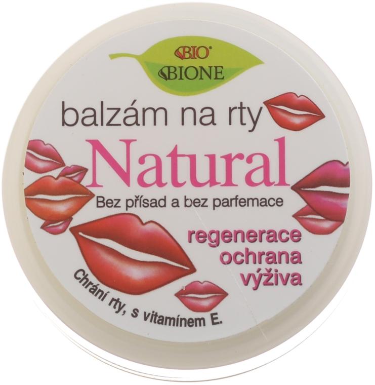 Natürlicher regenerierender Lippenbalsam mit Vitamin E - Bione Cosmetics Vitamin E
