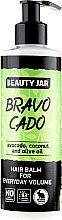 Düfte, Parfümerie und Kosmetik Volume Conditioner für täglichen Gebrauch mit Avocado, Kokos und Olivenöl - Beauty Jar Hair Balm For Everyday Volume