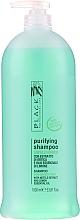 Düfte, Parfümerie und Kosmetik Seboregulierendes Shampoo mit Brennnessel und Zitronenöl für fettiges Haar - Black Professional Line Sebum-Balancing Shampoo