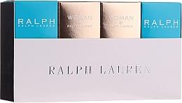 Düfte, Parfümerie und Kosmetik Ralph Lauren Mini Gift Set For Women - Duftset (Eau de Toilette 2x7ml + Eau de Parfum 2x7ml)