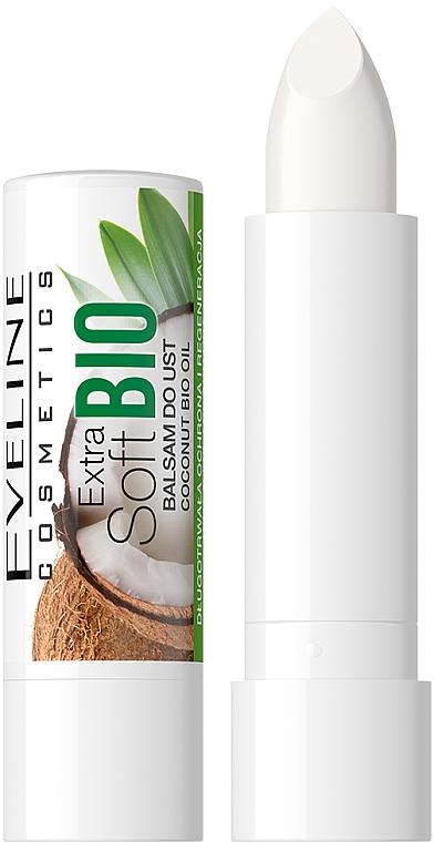 Lippenbalsam Kokosnuss - Eveline Cosmetics Extra Soft Bio Coconut Lip Balm