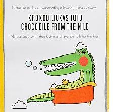 Düfte, Parfümerie und Kosmetik Seife für Kinder mit Sheabutter und Lavendel - Uoga Uoga Crocodile From The Nile Natural Soap