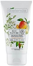 Düfte, Parfümerie und Kosmetik Feuchtigkeitsspendendes Gesichtspeeling mit Pflaume, Jasmin und Mango - Bielenda Eco Nature Kakadu Plum, Jasmine and Mango