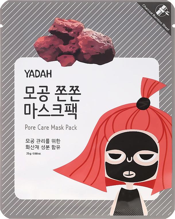 Tuchmaske zur Reinigung der Poren mit Bambusextrakt - Yadah Pore Care Mask Pack